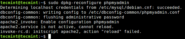 How to Reconfigure Installed Package in Ubuntu and Debian