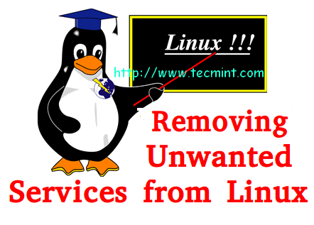 How to Stop and Disable Unwanted Services from Linux System