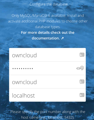 How to install ownCloud on Debain 9